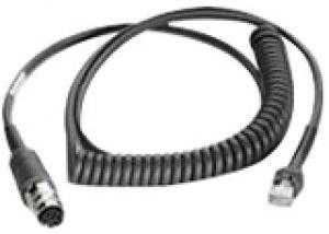 Zebra 25-71918-01R cable de serie Negro 2,75 m LAN