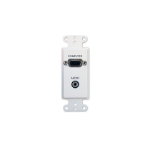 FrontRow WP-PC socket-outlet VGA + 3.5 mm White
