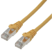 MCL 10m Cat6a F/UTP cable de red F/UTP (FTP) Amarillo