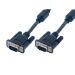 MCL SVGA HD15 50 m cable VGA VGA (D-Sub) Negro