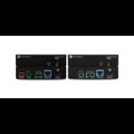 Atlona AT-UHD-EX-70C-KIT AV extender AV transmitter & receiver Black