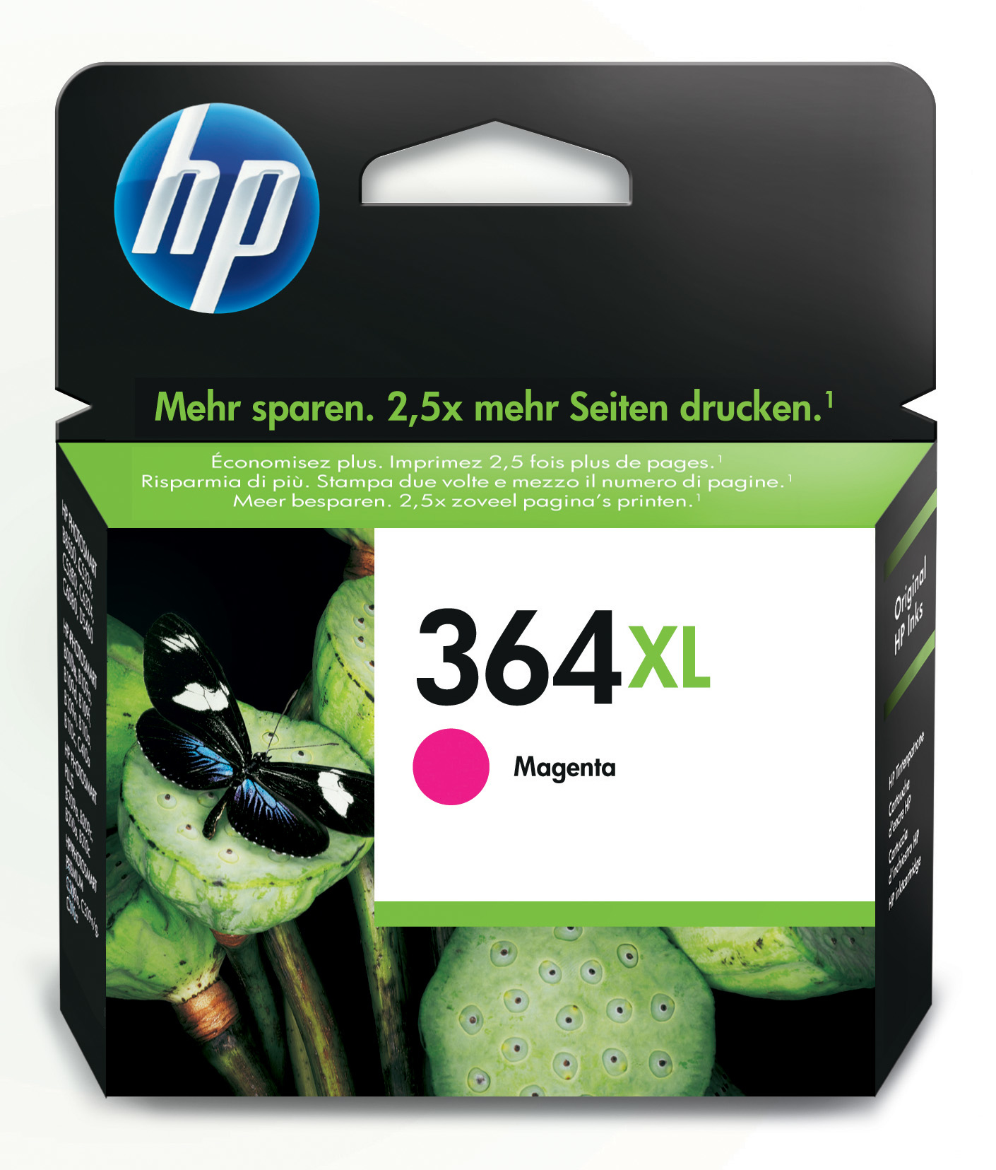 HP 364XL Magenta Ink Cartridge Original 1 pieza(s)