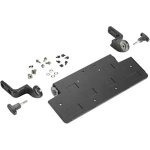 ZEBRA QWERTY/AZERTY Keyboard mounting tray. Includes tilting arms, knobs and screws.