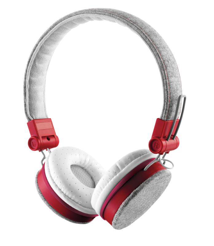 Fyber Headphone Grey/red