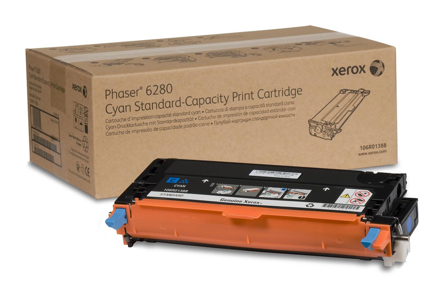 Xerox Tóner Cián De Capacidad Normal (2.200 Páginas)