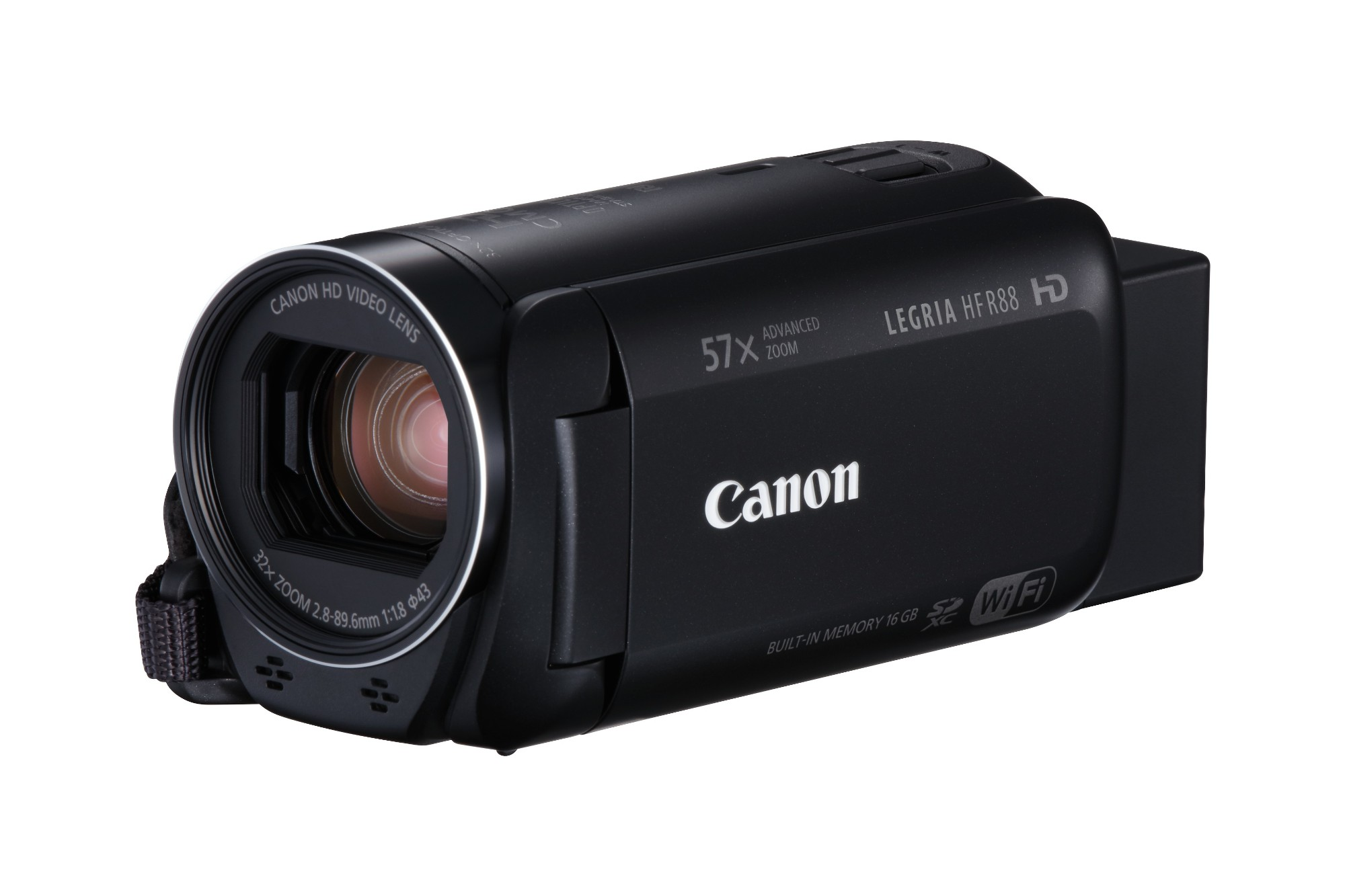 Canon LEGRIA HF R88 Handheld camcorder 3.28MP CMOS Full HD Black