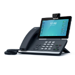 Yealink SIP-T58V Wired handset LCD Wi-Fi Black IP phone