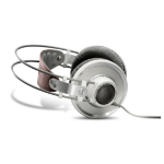 AKG K 701 Supraaural Head-band White, Brown