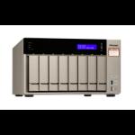 QNAP TVS-873e Ethernet LAN Tower Gold NAS