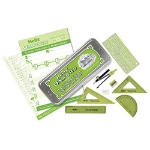 Helix Oxford Limited Edition Colours Maths Set Green