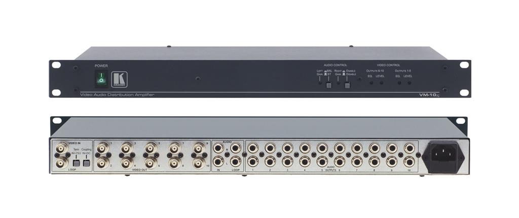 Kramer Electronics VM-10XL Black,Grey AV receiver