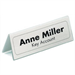 Durable 8050 Transparent sign holder/information stand