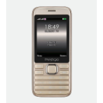 "Prestigio Grace A1 7.11 cm (2.8"") 102 g Gold Feature phone"