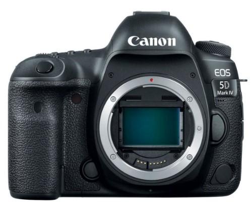 Canon EOS 5D Mark IV SLR Camera Body 30.4 MP CMOS 6720 x 4480 pixels Black