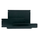APC Airflow Management Blanking Panel Kit (1U, 2U, 4U, 8U)ZZZZZ], AR8101BLK