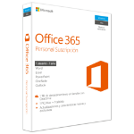 Microsoft Office 365 Personal 1user(s) 1year(s)