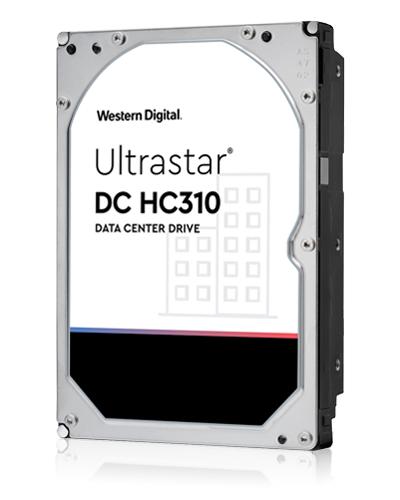 """Western Digital Ultrastar DC HC310 (7K6) 3.5"""" 4000 GB SAS"""