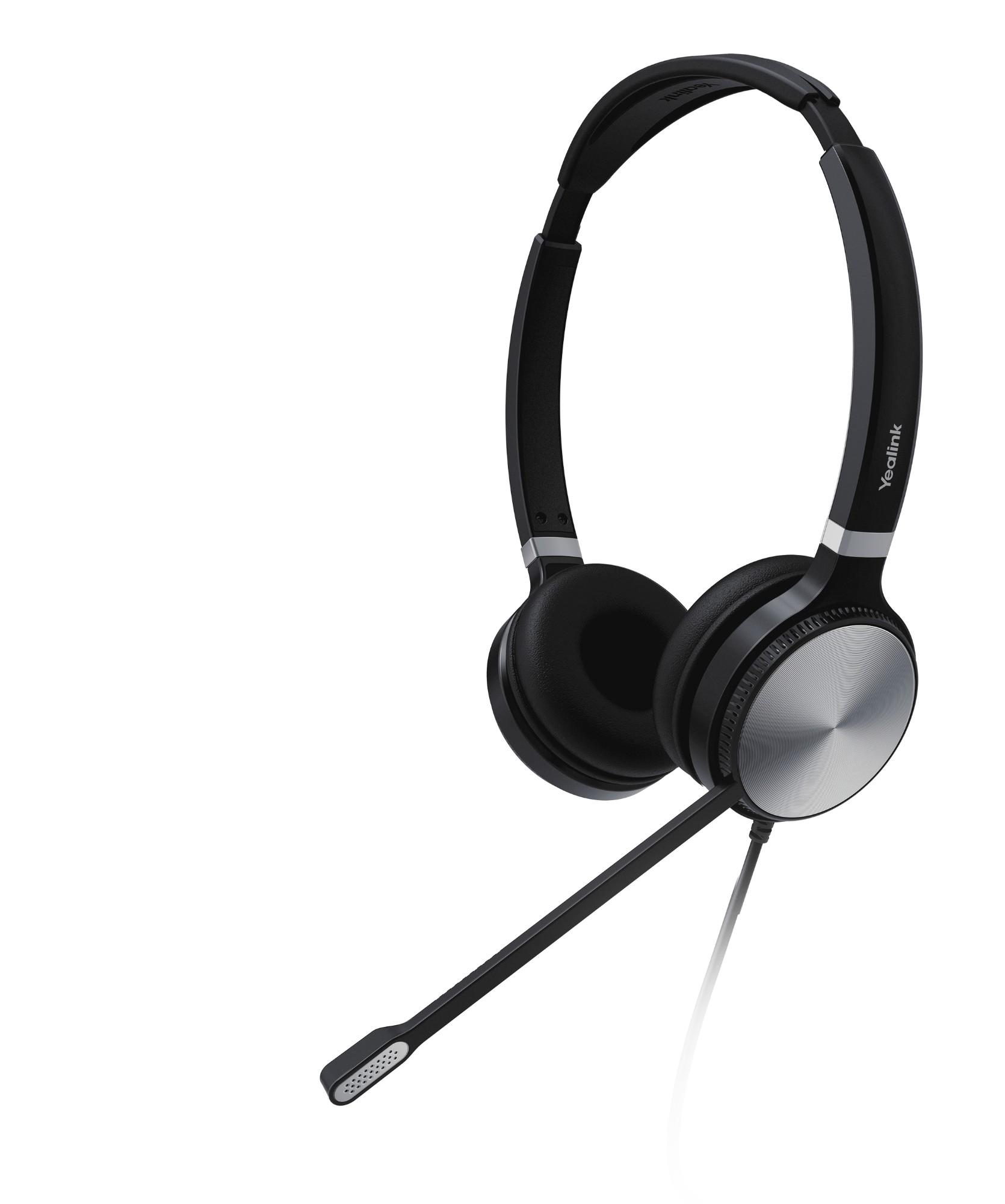 Yealink UH36 Dual Headset Head-band Black, Silver