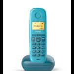 Gigaset A170 Teléfono DECT Azul Identificador de llamadas