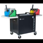 lockncharge Carrier 40 Cart Portable device management cart Black