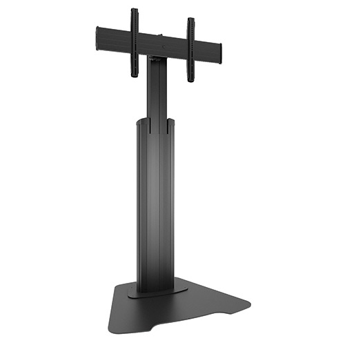 Chief LFAUB Flat panel Multimedia stand Black, Silver multimedia cart/stand