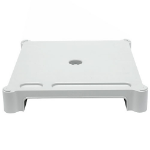 LEBLOC stackable 50mm monitor riser/stand in black; initially designed for CRT displays up to 17; can be us