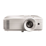 Optoma EH337 Desktop projector 3600ANSI lumens DLP 1080p (1920x1080) 3D White data projector