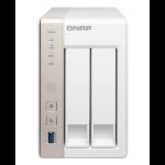 QNAP TS-251 NAS Tower Ethernet LAN White storage server