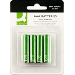 Q-CONNECT 4 x AAA Alkaline non-rechargeable battery