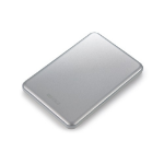 Buffalo MiniStation Slim external hard drive 1000 GB Silver