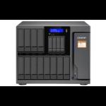 QNAP TS-1635AX NAS Desktop Ethernet LAN Zwart
