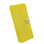 Walk on Water DropOff mobile phone case Folio Yellow