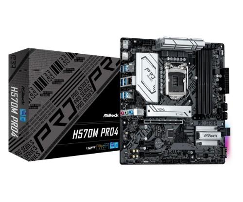 Asrock H570M Pro4 Intel H570 LGA 1200 micro ATX