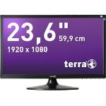 "Wortmann AG Terra LED 2455W 23.6"" Full HD LCD Black computer monitor"