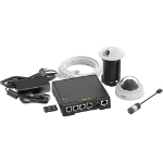 Axis F34 Wired 4channels video surveillance kit