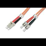 Digitus Fiber Optic Multimode Patch Cord, LC / ST
