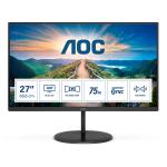 """AOC V4 Q27V4EA LED display 68.6 cm (27"""") 2560 x 1440 pixels 2K Ultra HD Black"""