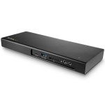 StarTech.com TB3DK2DPM2 notebook dock & poortreplicator Bedraad USB 3.0 (3.1 Gen 1) Type-C Zwart