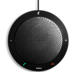 Jabra SPEAK 410 MS speakerphone PC Black USB 2.0