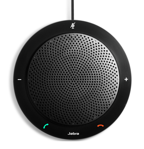 Jabra SPEAK 410 MS PC USB 2.0 Black speakerphone