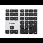 Sandberg Bluetooth Alu numeric keypad