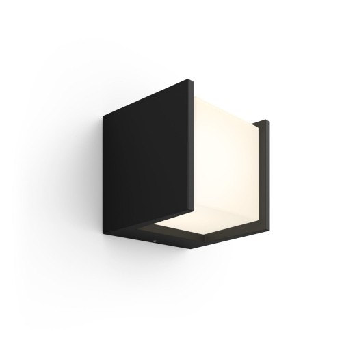 Philips Hue White Fuzo Outdoor Wall Light