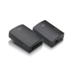 Linksys PLSK400 200Mbit/s Ethernet LAN connection Black 2pcs PowerLine network adapter