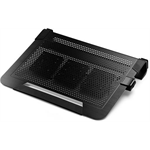 "Cooler Master NotePal U3 Plus 19"" 1800RPM Black notebook cooling pad"