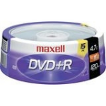 Maxell DVD+R 4.7 GB 15 pcs