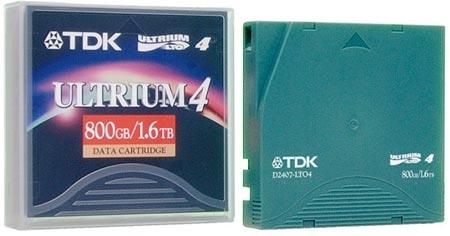 TDK D2407-LTO4 blank data tape LTO 1.27 cm