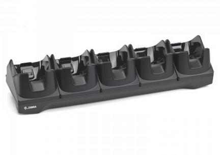 ZEBRA charging/transmitter cradle, 5 slots, ethernet