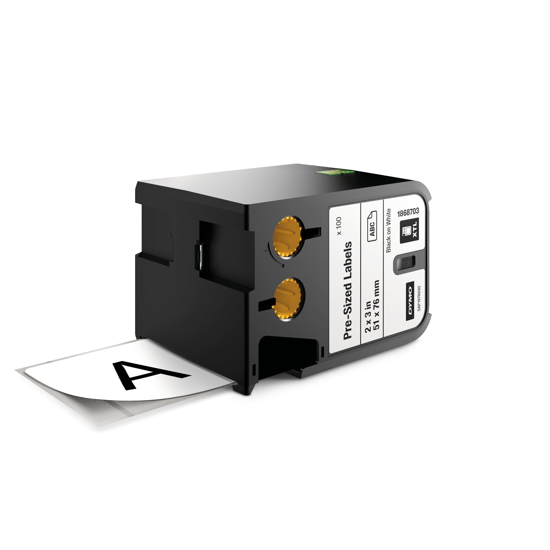 DYMO 1868703 Black on white label-making tape