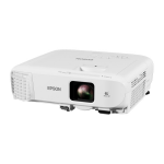 Epson EB-992F data projector Portable projector 4000 ANSI lumens 3LCD 1080p (1920x1080) White