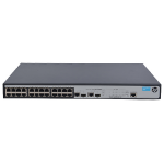 Hewlett Packard Enterprise 1910-24-PoE+ Managed L3 Fast Ethernet (10/100) Power over Ethernet (PoE) Rack (1U) Black,Grey